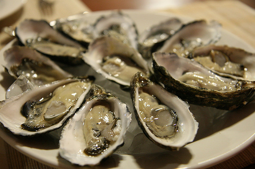 Oysters natural viagra